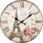 Eiffel Tower Decorative Clocks