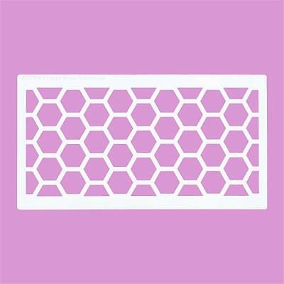 Honey Comb,Stencil 350 micron Mylar not thin stuff #Honey01