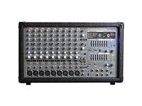 Soundpod 700 watt Stereo/mono, 12 channel mixer amp