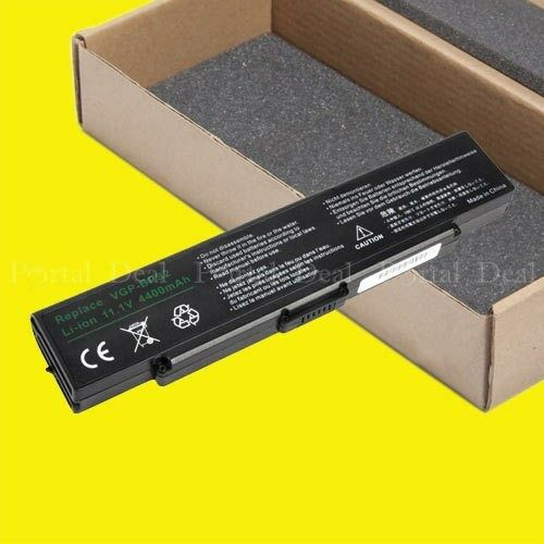 Battery For Sony Vaio Vgn-fj370 Vgn-sz230p Pcg-7v2l