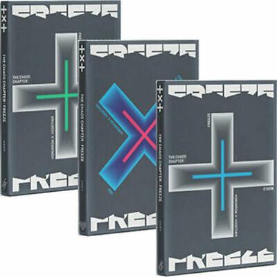 TXT THE CHAOS CHAPTER:FREEZE Album RANDOM CD+3 Book+Sticker+3 Photo Card+Poster