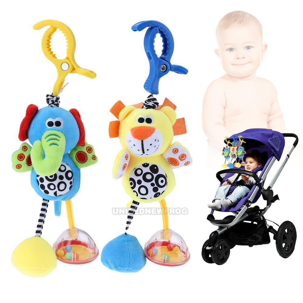 Cute Cartoon Animal Plush Doll Toys Newborn Baby Kids Soft B