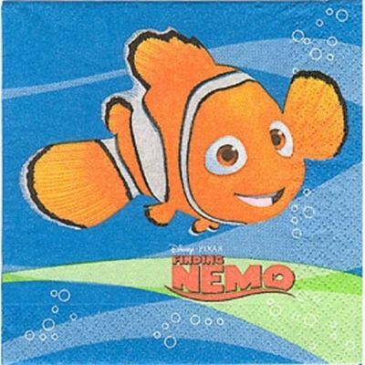 Finding Nemo Party Supplies-Napkins-Invites-Pearler Kit-Foam Activity Kit-Sticke](Finding Nemo Invitations)