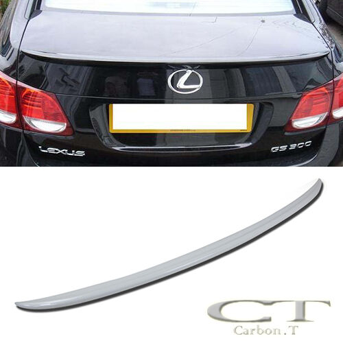 Painted Fit LEXUS GS350 GS300 GS430 ABS REAR OE Type TRUNK SPOILER WING 06-11