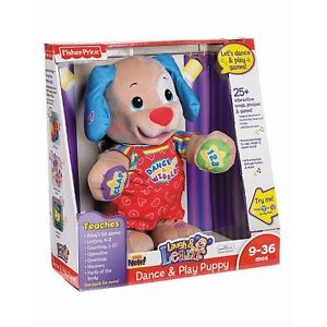 NEW-Fisher-Price-Laugh-Learn-Dance-Play-Puppy-ELECTRONIC-INTERACTIVE-TALKING