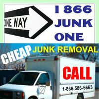 Small or Big garbage removal jobs is what we do.