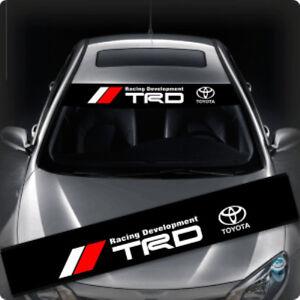 Trd Windows Windshield Car Sticker Decal Fd0009 135x22cm