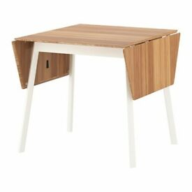 Ikea PS Drop Leaf-Table & 4 Sigurd Chairs