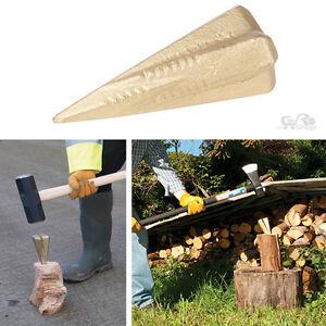 Log Bomb 4 Way Split Splitter Splitting Wood Grenade Wedge Maul Axe Burner New