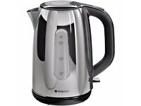 Hotpoint WK30MDX0 Breakfast Kettle Stainless Steel Was: £49.99