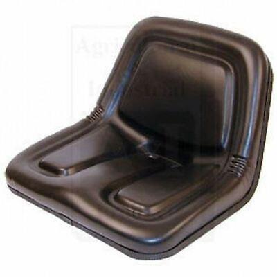 3284599m91 Massey Ferguson Garden Tractor Seat Flip Style Dishpan W Brackets 1