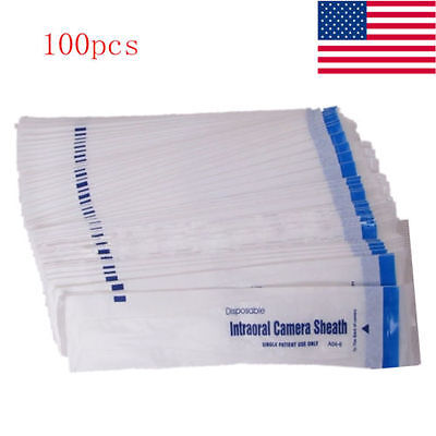 100pcs Intraoral Camera Dental Camera Sleevesheathcover Lab Equipment
