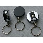 Metal Retractable Key Chain