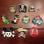 Disney Pirate Pin Lot