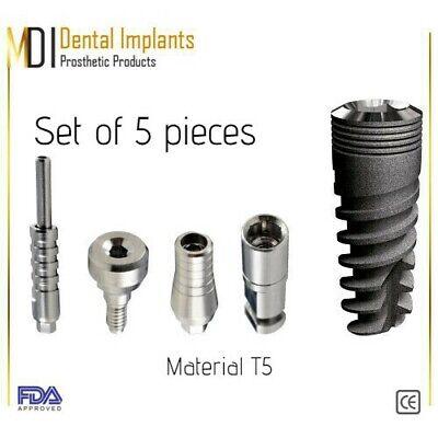 1 Dental Implant Straight Abutment Healing Cap Analog Transfer For Dentistry