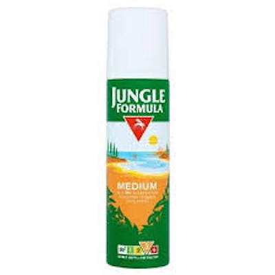Jungle Formula Medium Aerosol Insect Repellent 125ml