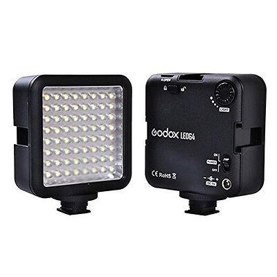 Godox 64 LED Camera LED Panel light,Portable Dimmable Camera Camcorder Led#G0S6