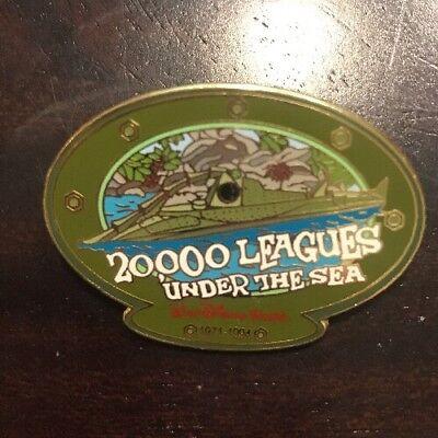 Disney Pin Nautilus 20,000 Leagues Under The Sea Le 3500 Rare