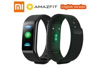 New English Version Original Xiaomi Huami Amazfit MiDong Cor Heart Rate Color IPS Screen Smartband