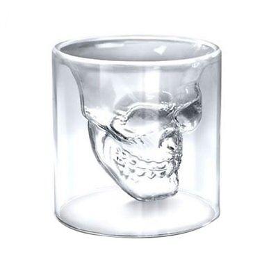 f Shot Glas Schnapsgläser 25ml Kapazität (Totenkopf Shot Glas)