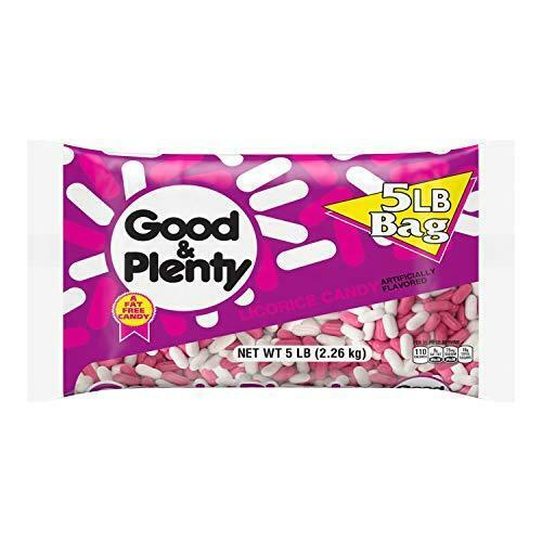 GOOD & PLENTY Licorice Candy- 80 Ounce (Pack of 1)