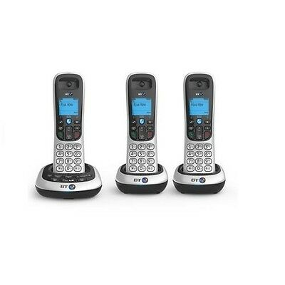 BT 2600 Trio Telephone with Answer Machine - Dect Phone