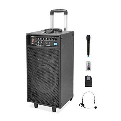 Pyle Pro 800 Watt Outdoor Portable Wireless PA Loud speaker