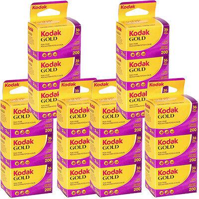 18 Rolls Kodak Gold 200 Color 135-36 Print Film - Sealed Packs - Dated: 09/2016