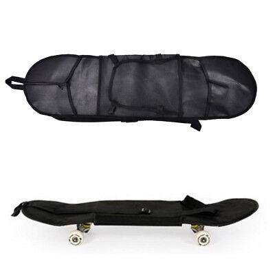 Outdoor Skateboard Carry Bag Longboard Deck Skate Board Backpack 81*21cm BlaRKFS