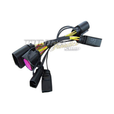 Adapter Cable Loom Halogen on Xenon Facelift LED Tfl Headlight for Audi Q7 4L