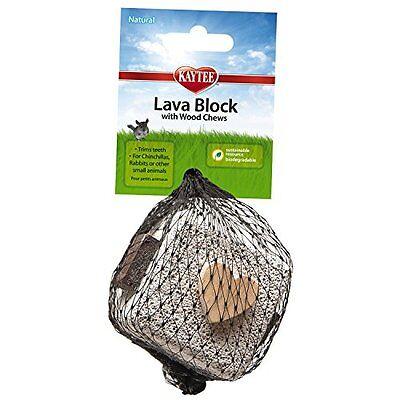 Kaytee Lava Block Chew Toy