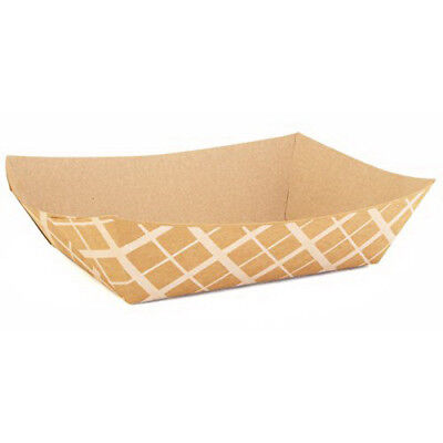 """Southern Champion 5 lb Brown Nested Food Tray , 8.5"""" x 5.75"""""""