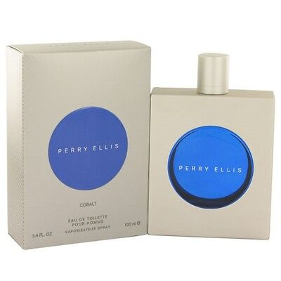 Perry Ellis Cobalt By Perry Ellis 3 4 Oz Edt Cologne For Men New In Box