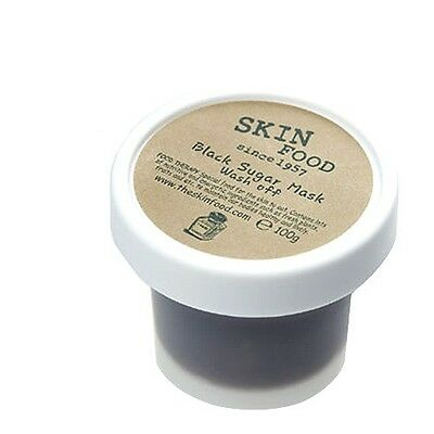 [SkinFood] Black Sugar Mask 100g Wash-off Mask Facial Scrub Peeling