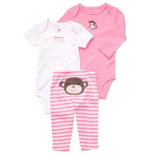 Baby Girl Monkey Clothes Ebay