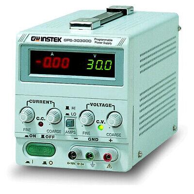 Instek Gps1850d Dc Power Supply 18v5a