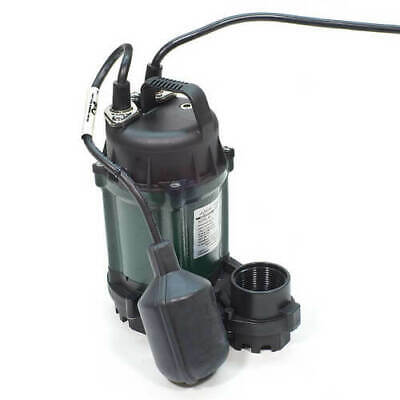 Zoeller M49 Sump Pump 14 Hp Cast Iron Submersible Wm49 49-0005 Auto Floatswitch