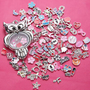 Free shipping! Wholesale 50pcs lot Floating Charm for Glass Living Memory Locket