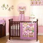 Baby Girl Owl Bedding