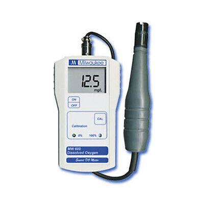 Milwaukee Mw600 0.0-19.9ppm O2l Dissolved Oxygen Meter