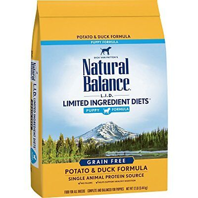 Natural Balance Puppy Formula L.I.D. Limited Ingredient Diets Dry Dog Food