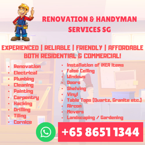 Professional Handyman services 24/7 Reliable & Efficient with Many Years Experience!