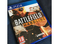 PS4 Battlefield Hardline in mint condition like new