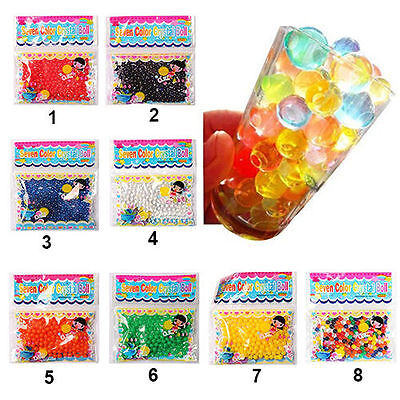 10Bags Wedding Decor Crystal Soil Water Beads ...