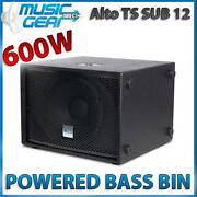 Powered Bass Bin