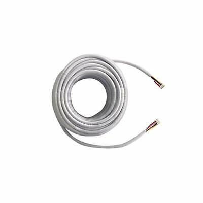 TMEZON 15M RVV4 Cable de 4 hilos para videoportero Timbre de la...