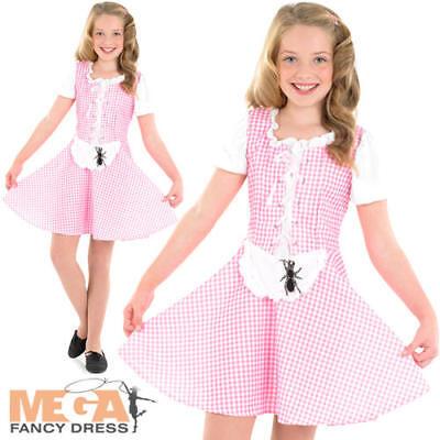 Little Miss Muffet Girls Fancy Dress Nursery Rhyme Kids Book Day Costume Outfit - Little Miss Muffet Costume Kids