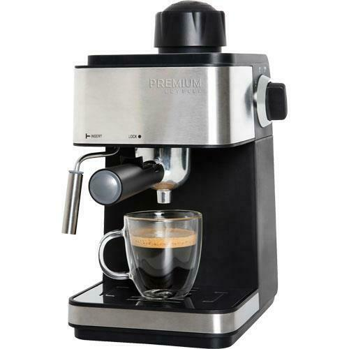 Premium - 3-In-1 Steam Espresso, Cappuccino and Latte Machine 3.5 Bar Pressure