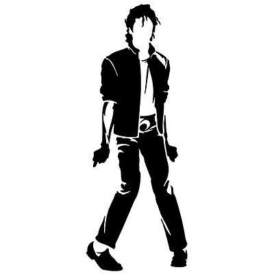 MICHAEL JACKSON KING POP MUSIC CUSTOM CAR WINDOW VINYL DECAL STICKER - Michael Jackson Custome