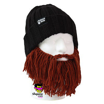 0ce45133d4aae Beard Head Barbarian Vagabond Brown Warm Thermal Winter Ski Mask With Beanie  Hat